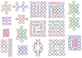rangoli patterns using mathematical shapes why do indians draw rangoli scientific reason guruprasad s portal