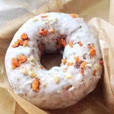 cream cheese glazed carrot cake donut yelp