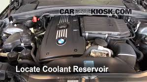 coolant for bmw 3 series coolant level check 2008 2014 135i 2009 bmw 135i 3 0l 6 cyl