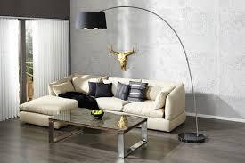 stehleuchte design design bogenleuchte schwarz gold riess ambiente de