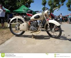 old peugeot old peugeot 125cc motorcycle editorial photo image 55095841