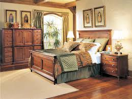 King Bedroom Set With Armoire Durham Furniture Savile Row 4 Piece Panel Bedroom Set In Victorian