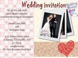 marriage invitation card sle how to make a wedding invitation card