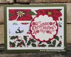 sharing creativity and company quick and easy cozy christmas card 2