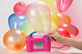 amazon com electric air balloon pump agptek portable dual nozzle