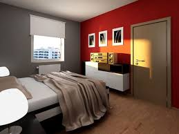 Grey Bedrooms by Red And Grey Bedroom Boncville Com