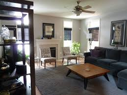 Family Room Makeovers Spaces Contemporary With Family Room - Family room lamps