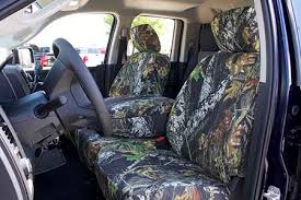 Camo Bench Seat Covers For Trucks Front 40 20 40 Bench Seat Rufftuff Outdoor Camo