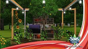 the sims 3 store lemon tree and eggplant bush youtube