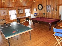 ping pong table playing area take a tour the mad carpenter inn handcrafted elegance