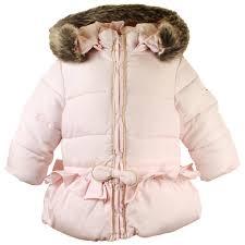 designer childrenswear tartine et chocolat tartine et chocolat jacket light pink baby
