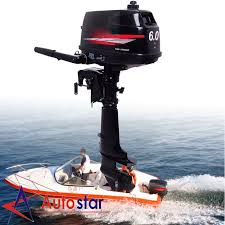 6 0hp two stroke power outboard motor boat engine water cooling
