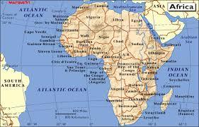 africa map atlas maps