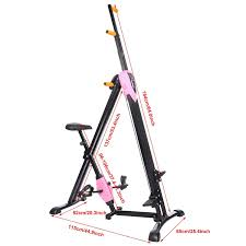 health and fitness den ancheer vertical climber u0026 exercise bike