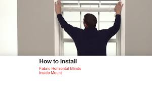How To Hang Roman Blinds Instructions How To Install Blinds And Shades Bali Blinds And Shades