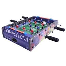 table top football games buy official fc barcelona table top football game at pinksumo com