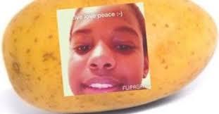 Potatoe Meme - meme alert a potato flew around the room is now flying around the