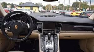 Panamera Red Interior Used Porsche Panamera Turbo S For Sale