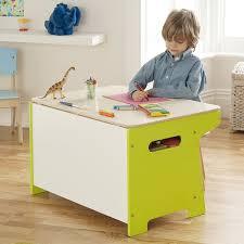 coffre a jouet bureau millhouse enfants boîte de jouet dinosaure et bureau amazon fr