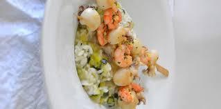 comment cuisiner les gambas brochettes de seiche et gambas marinées recette sur cuisine actuelle