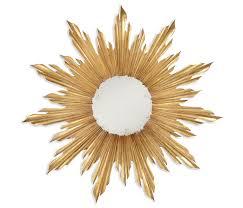 ergonomic sunburst wall mirrors decorative modern mirror wall art