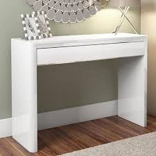 white console table with drawers lexi white high gloss console table furniture123