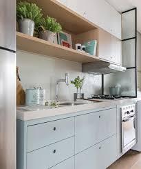 simplesmente apaixonada pelos tons utilizados nessa cozinha