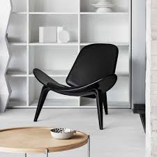 Shell Chair Ch07 Shell Chair Black Edition