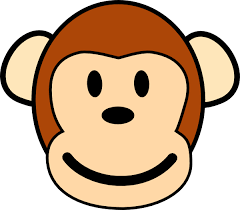 cute baby monkey coloring pages monkey coloring pages draw coloring pages clip art library