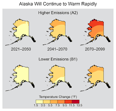 Future Temperature And Precipitation Change In Colorado Noaa Alaska National Climate Assessment
