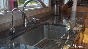 Granite Kitchen Countertops - Kitchen sink titanium