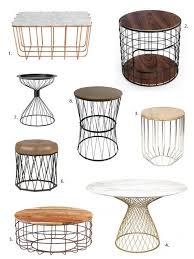 wire and wood basket side table amazing industrial wire and wood basket side table 60 liked on