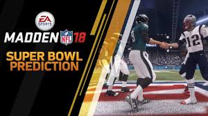 What Are The Super Bowl Predictions From 14 Animals Across The - madden nfl 18 super bowl 52 prediction patriots vs eagles youtube