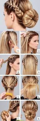 Sch E Hochsteckfrisurenen Mittellange Haare by Künstlerisch Hochsteckfrisuren Für Lange Haare Deltaclic