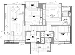 modern 2 bedroom apartment floor plans apartments floor plan for open layout home under 100 square