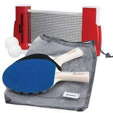 portable table tennis table portable table tennis with net paddles balls franklin sports