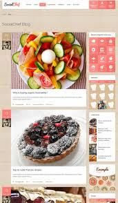 cuisine socialchef un thã me pour site web de recettes
