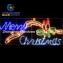 led merry christmas light sign china animated 230cm wide led merry christmas sign with candles