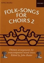 folk songs for choirs 2 rutter oxford press