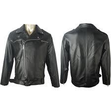leather jacket halloween costume tv costume the walking dead negan leather jacket cosplay costume