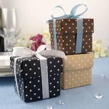 polka dot boxes polka dots square favor box set of 10 favor boxes its a wrap