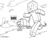 minecraft villager kid coloring pages printable