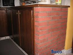 cuisine en brique meubles cuisines en brique