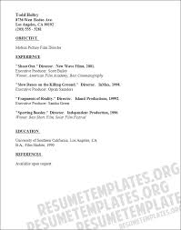 Sample Writer Resume by Film Production Resumeresume Sample Download Doc How To Work