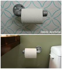 Toilet Paper Holder For Small Bathroom Industrial Bathroom Hardware Domestic Imperfection