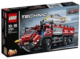 lego technic 42068 lego technic airport rescue vehicle
