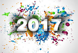 new paint 2017 new year with paint background vector vector background free