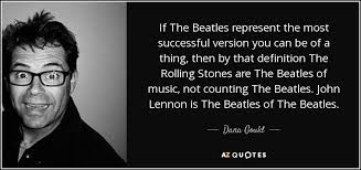 gould quote if the beatles represent the most successful