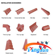 Roof Tiles Types Types Of Plastic Roofing Sheet Pvc Roof Tile For Home Royal