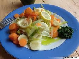 cuisiner l ail des ours légumes vapeur et purée d ail des ours recette de cuisine